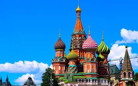 Catedral de Sao Basilio, Moscou, Russia