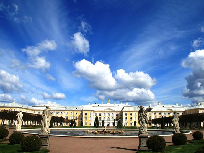 Peterhof, Sao Petersburgo, Russia