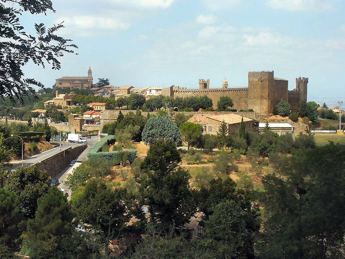Montalcino, Siena
