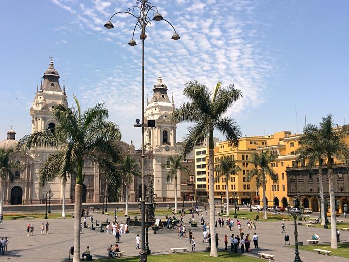 Praca das Armas, Lima