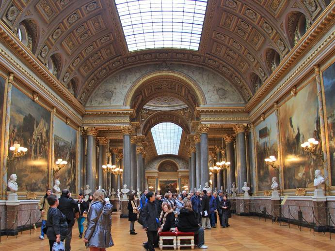 Galeria das Batalhas, Palacio de Versalhes