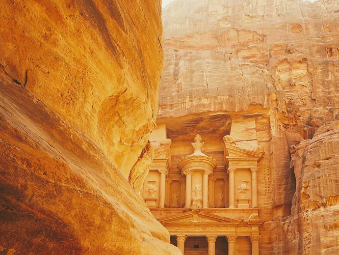 Imperio Nebateu, Petra, Jordania