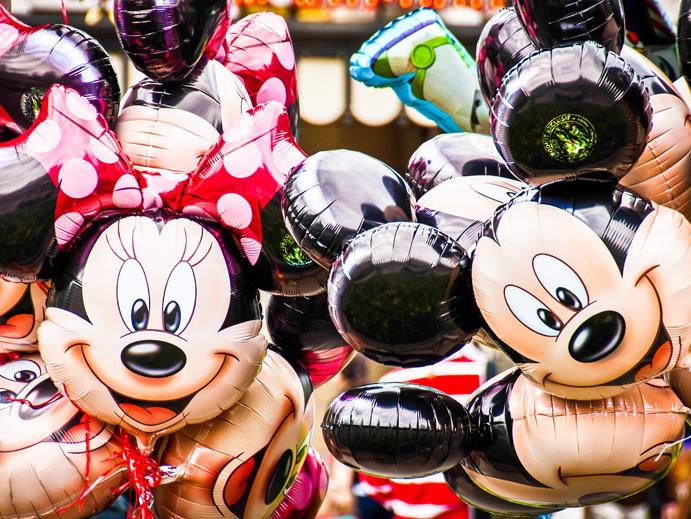 Baloes na Disney