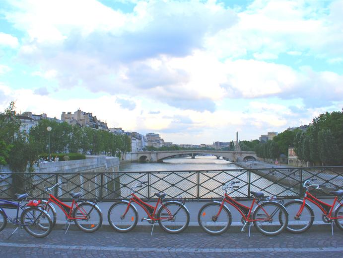 Bicicleta, Rio Sena