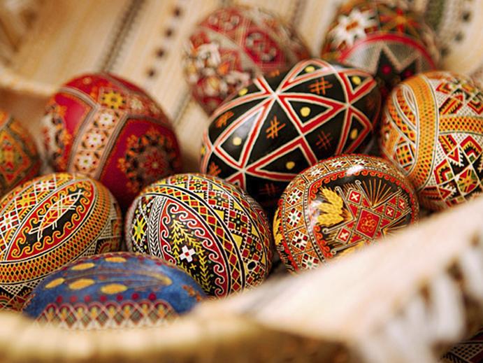 Pascoa, Ucrania
