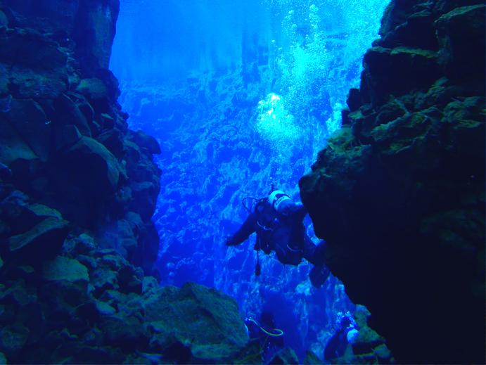 Fissura de Silfra, Islandia