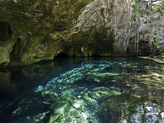 Gran Cenote, Riviera Maya, Mexico